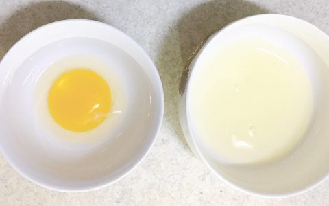 Separate egg white