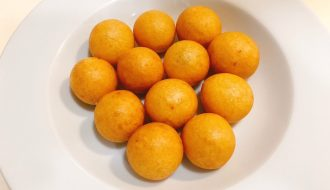 Fried sweet potato balls