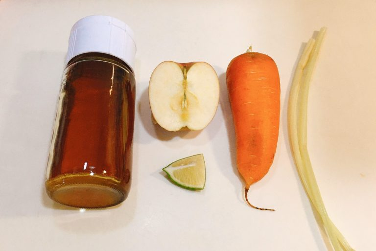 Carrot Juice Ingredients
