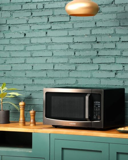 Toshiba ML-EM45P(BS) Countertop Microwave oven