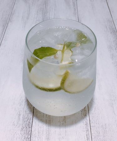Sparkling Elderflower Lemon Water