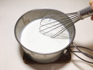 whisk until smooth and dissolved