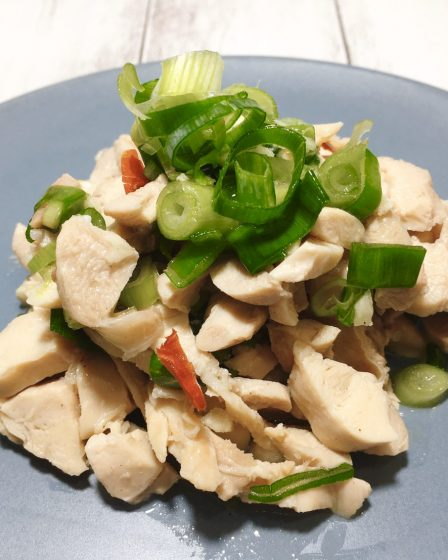 Boiled Salty Chicken