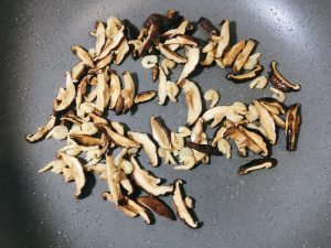 fry until fragrant about 30 seconds