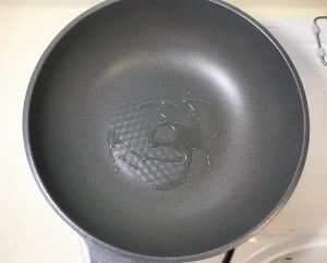 Heat a large pan
