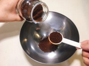 Add instant coffee