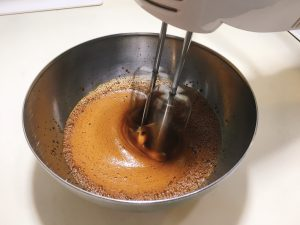 Beat the coffee mixture
