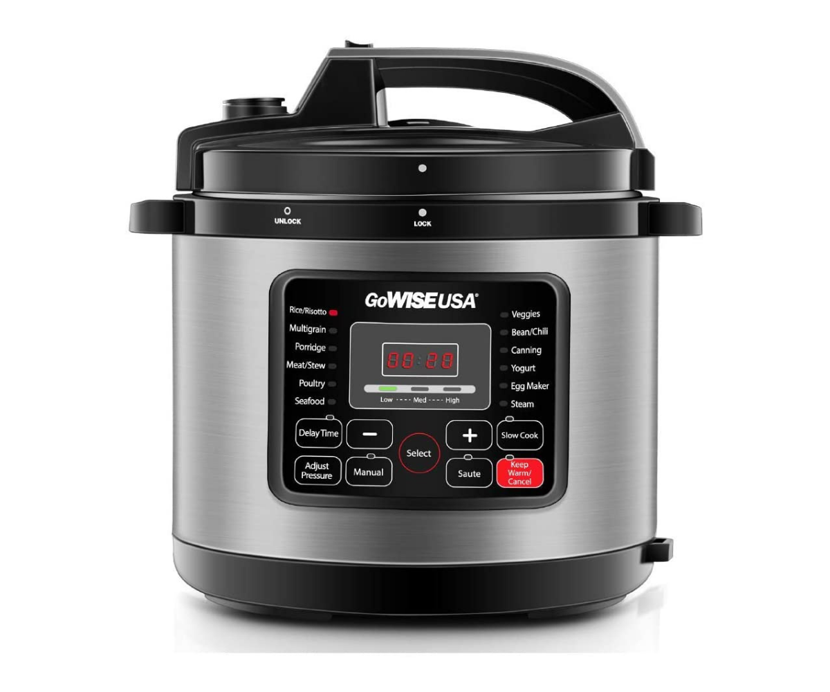 GoWISE USA GW22711 6-Quart Pressure Cooker