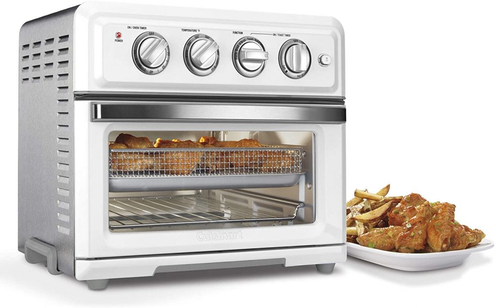 Cuisinart TOA-60 Air fryer Convection Toaster Oven in kitchen