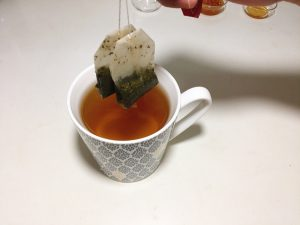 Take out the tea bags