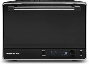 KitchenAid KCO255BM Dual Convection Countertop Toaster Oven