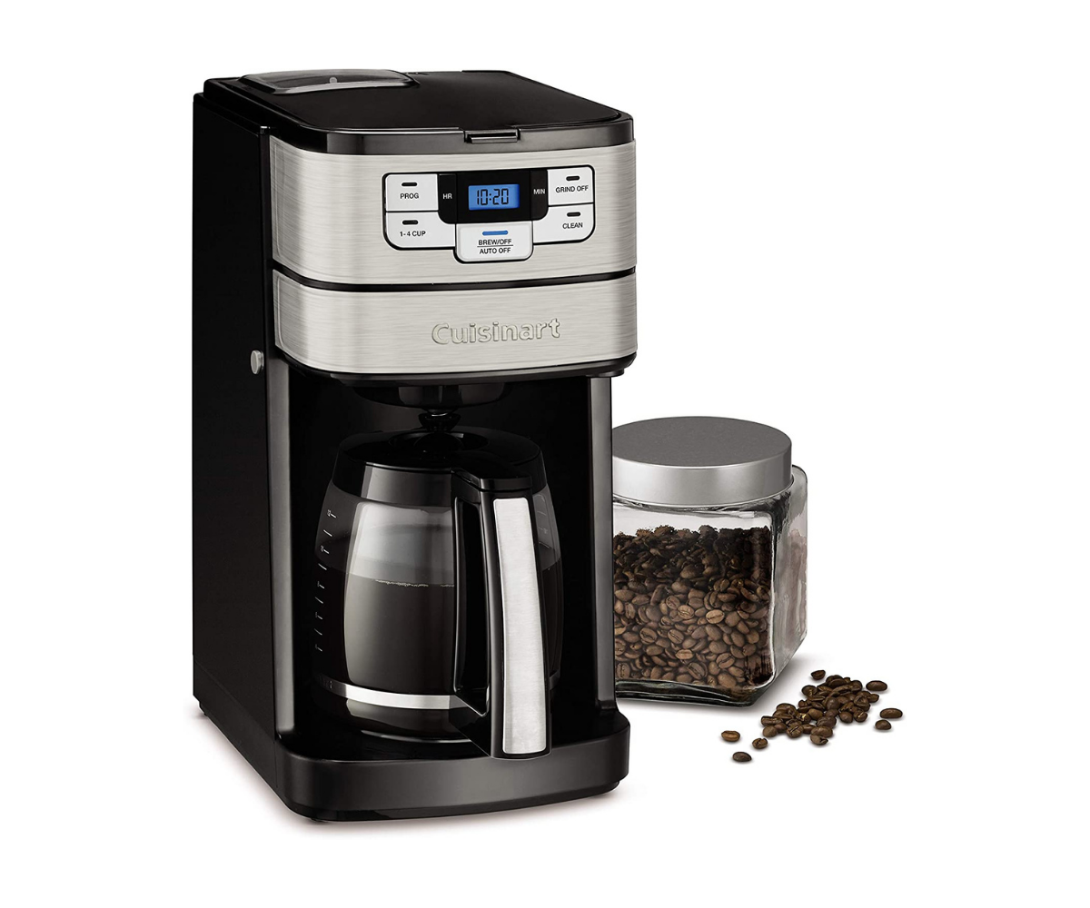 Cuisinart DGB-400 Automatic Grind & Brew 12-Cup Coffeemaker with bean