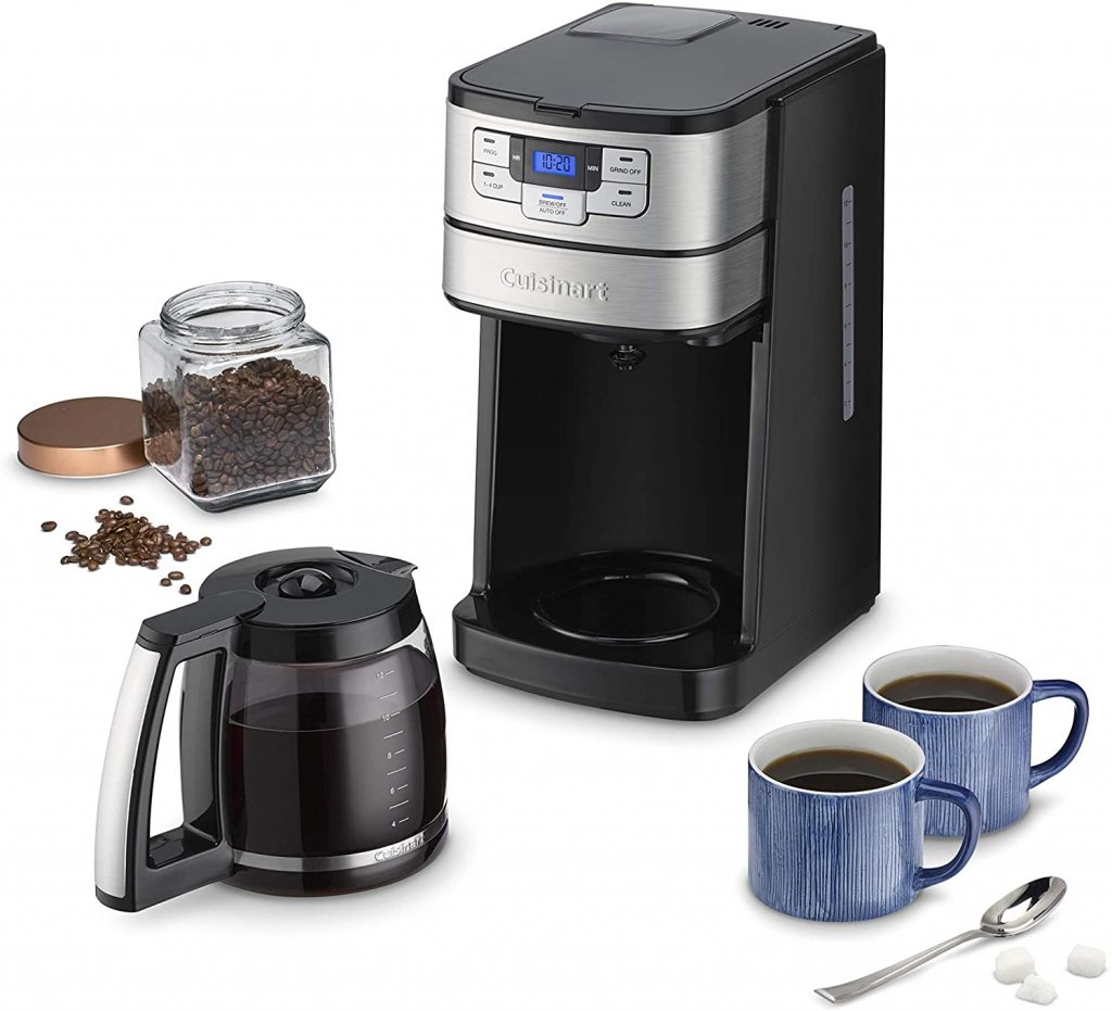 Cuisinart DGB-400 Automatic Grind and Brew 12-Cup Coffeemaker set