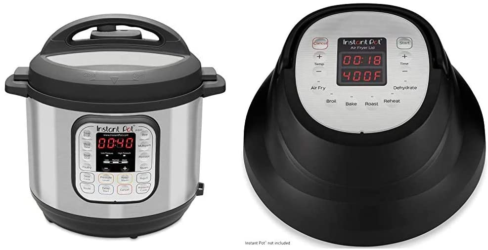 Instant Pot Duo 7-in-1 Electric Pressure Cooker set