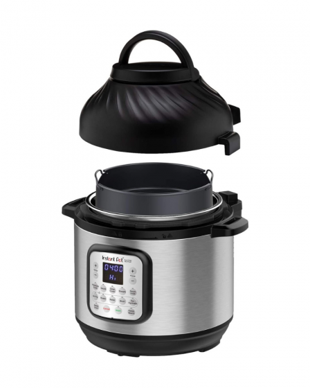 Instant Pot Duo Crisp Pressure Cooker and air fryer