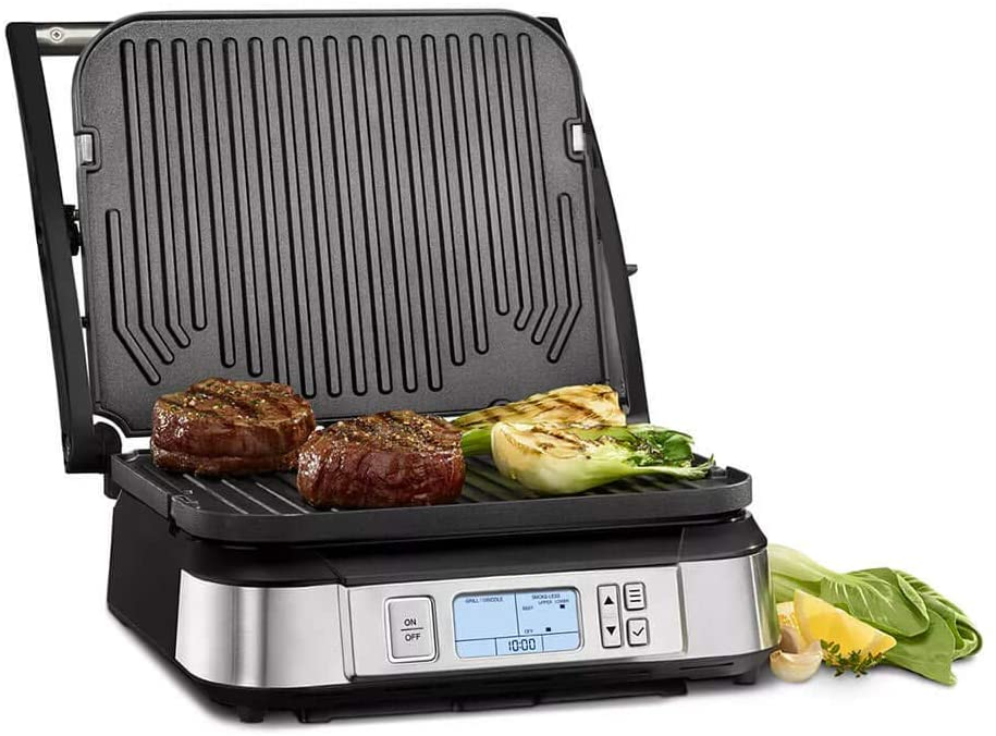 Cuisinart GR-6S Contact Griddler roasted beef