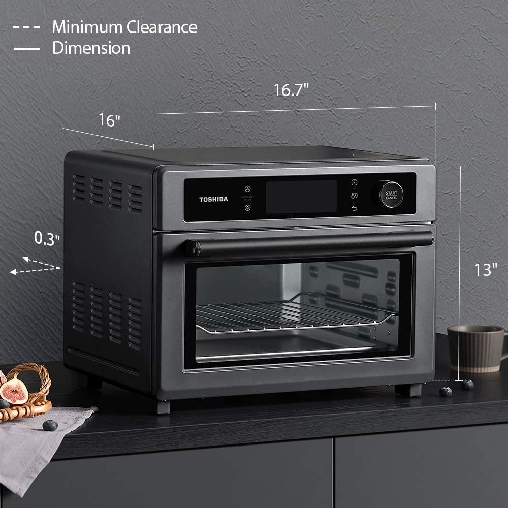 Toshiba Air Fryer Toaster Oven Size