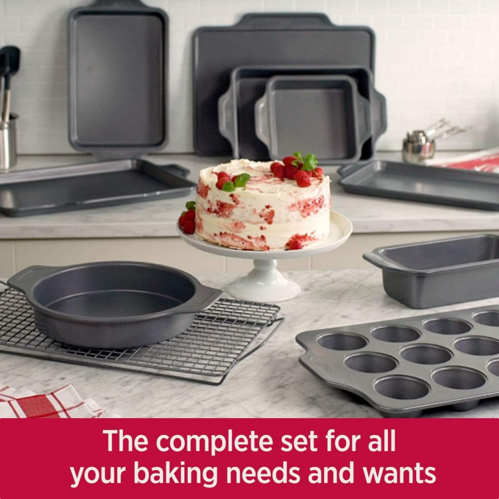 All-Clad Pro-Release 10-piece Bakeware Set for Baking