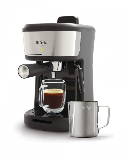 Mr. Coffee Steam Cappuccino, Espresso and Latte Maker