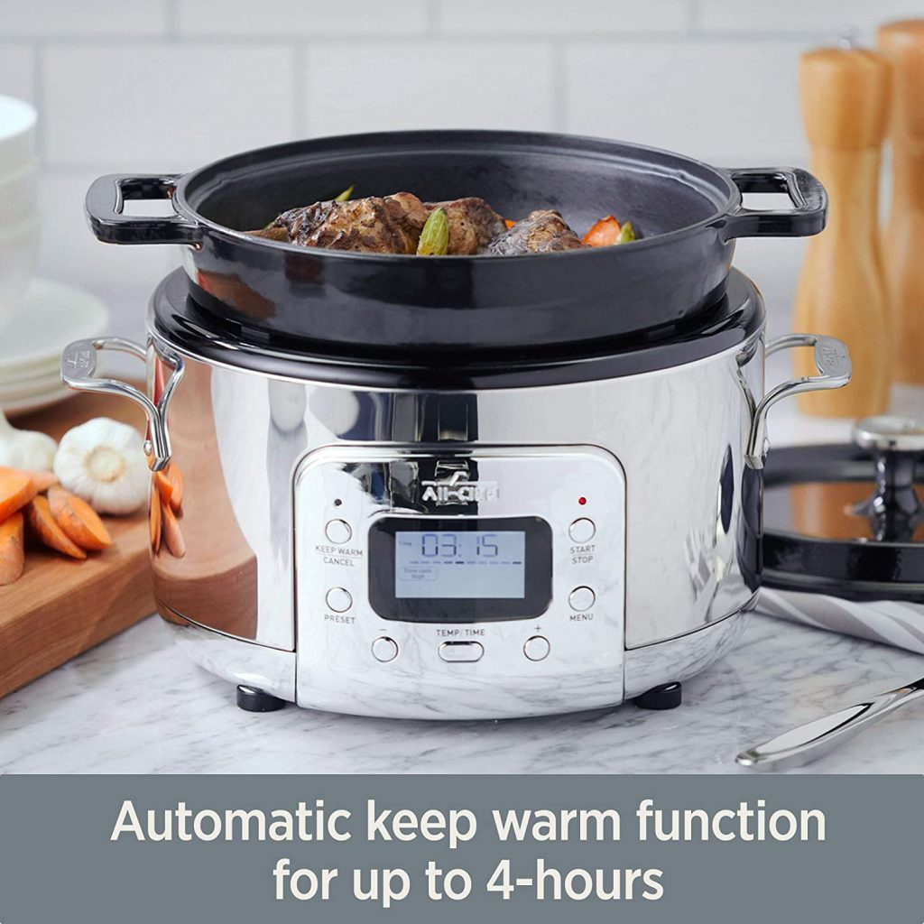 All-Clad Electric Dutch Oven Functions