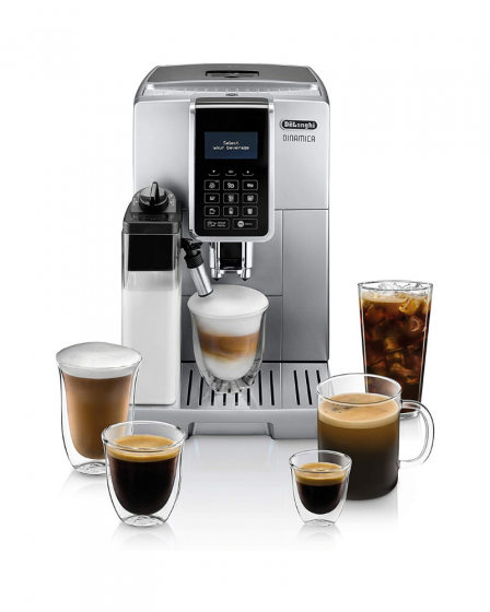 De'Longhi ECAM35075SI Dinamica with LatteCrema Espresso Machine