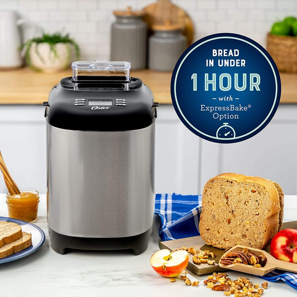 Oster Bread Maker with ExpressBake 1 Hour