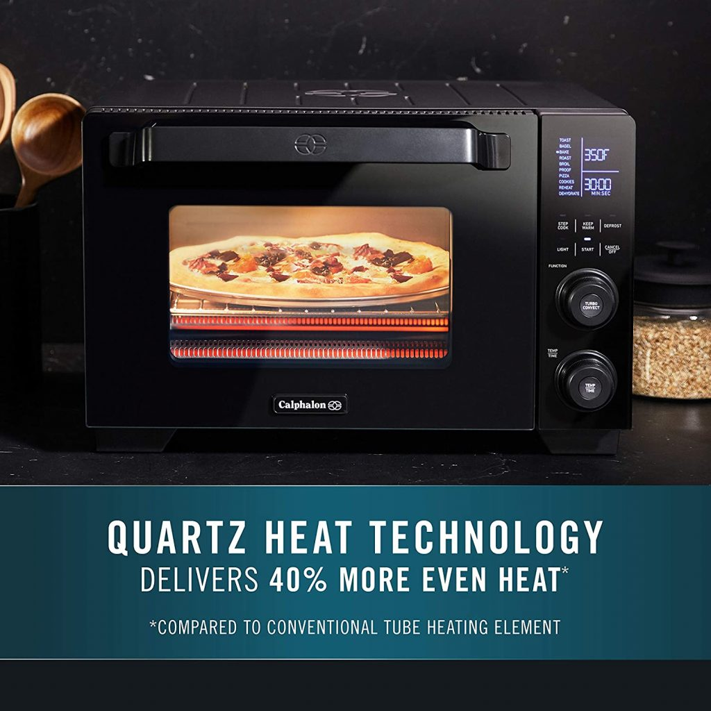 Calphalon Cool Touch Toaster Oven Heat Technology