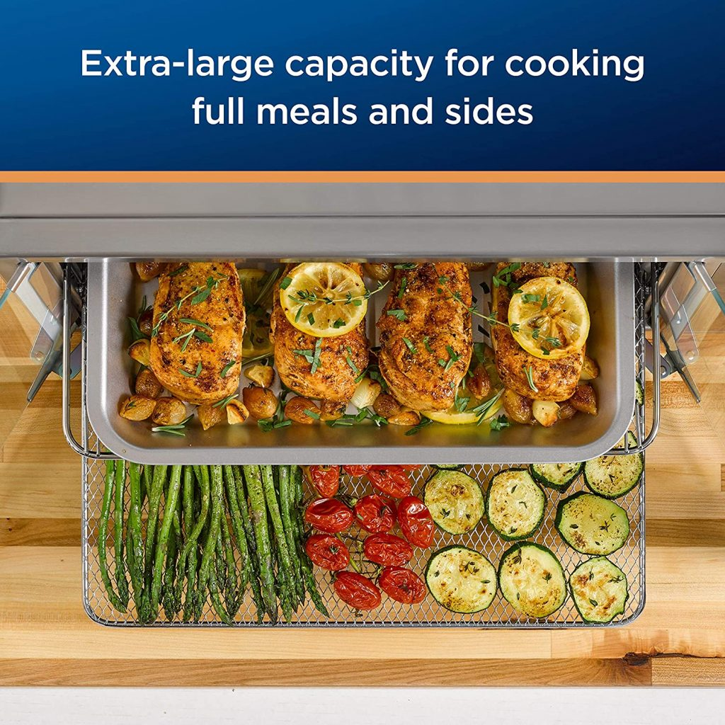 Oster Air Fryer Countertop Toaster Oven Capacity