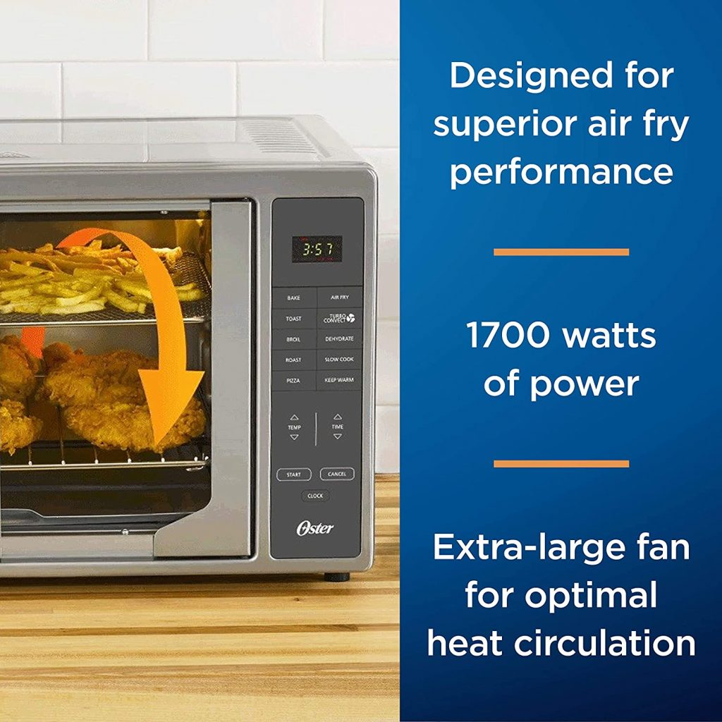 Oster Air Fryer Countertop Toaster Oven Designed