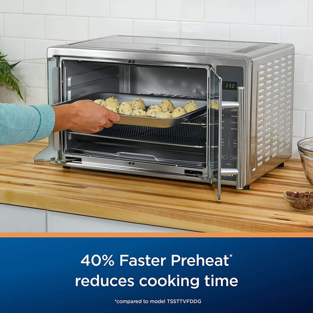 Oster Air Fryer Countertop Toaster Oven Faster Preheat