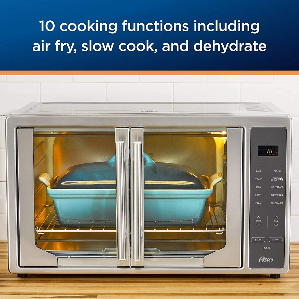 Oster Air Fryer Countertop Toaster Oven Functions