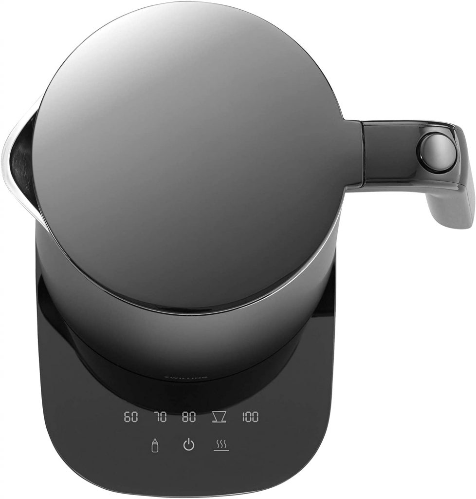 Zwilling Enfingy Cool Touch Cordless Kettle Panel