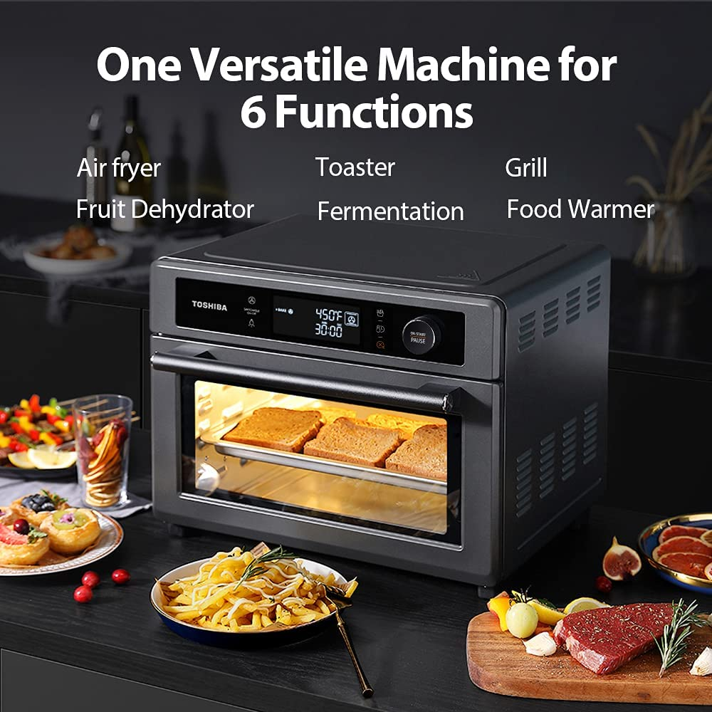 Toshiba Air Fryer 13-in 1 Toaster Oven Functions