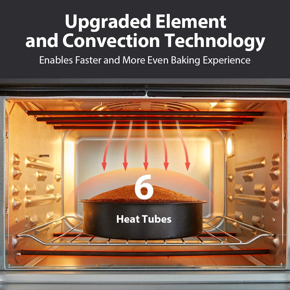 Toshiba Air Fryer 13-in 1 Toaster Oven Heat Tubes