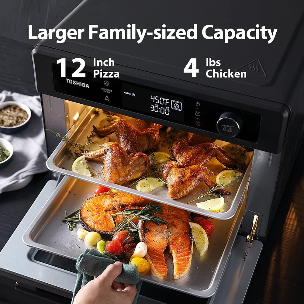 Toshiba Air Fryer 13-in 1 Toaster Oven Large Capacity