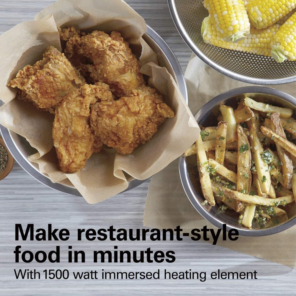 Make Restaurant-Style Fried Food in Minutes