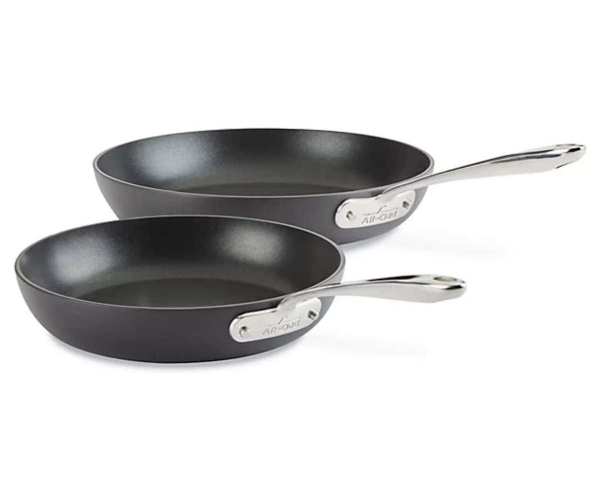 """All-Clad Nonstick Fry Pans 10.5"""" & 12"""""""