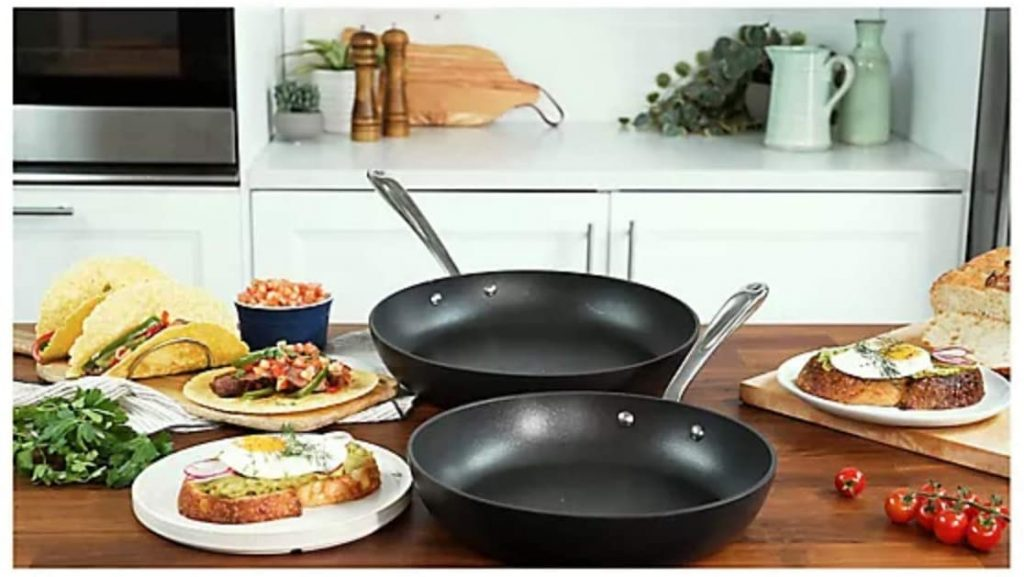 """All-Clad Nonstick Fry Pans 10.5"""" & 12"""" in Kitchen"""