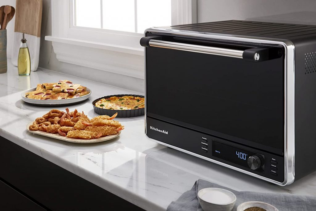 KitchenAid Dual Convection Countertop Oven in Kitchen