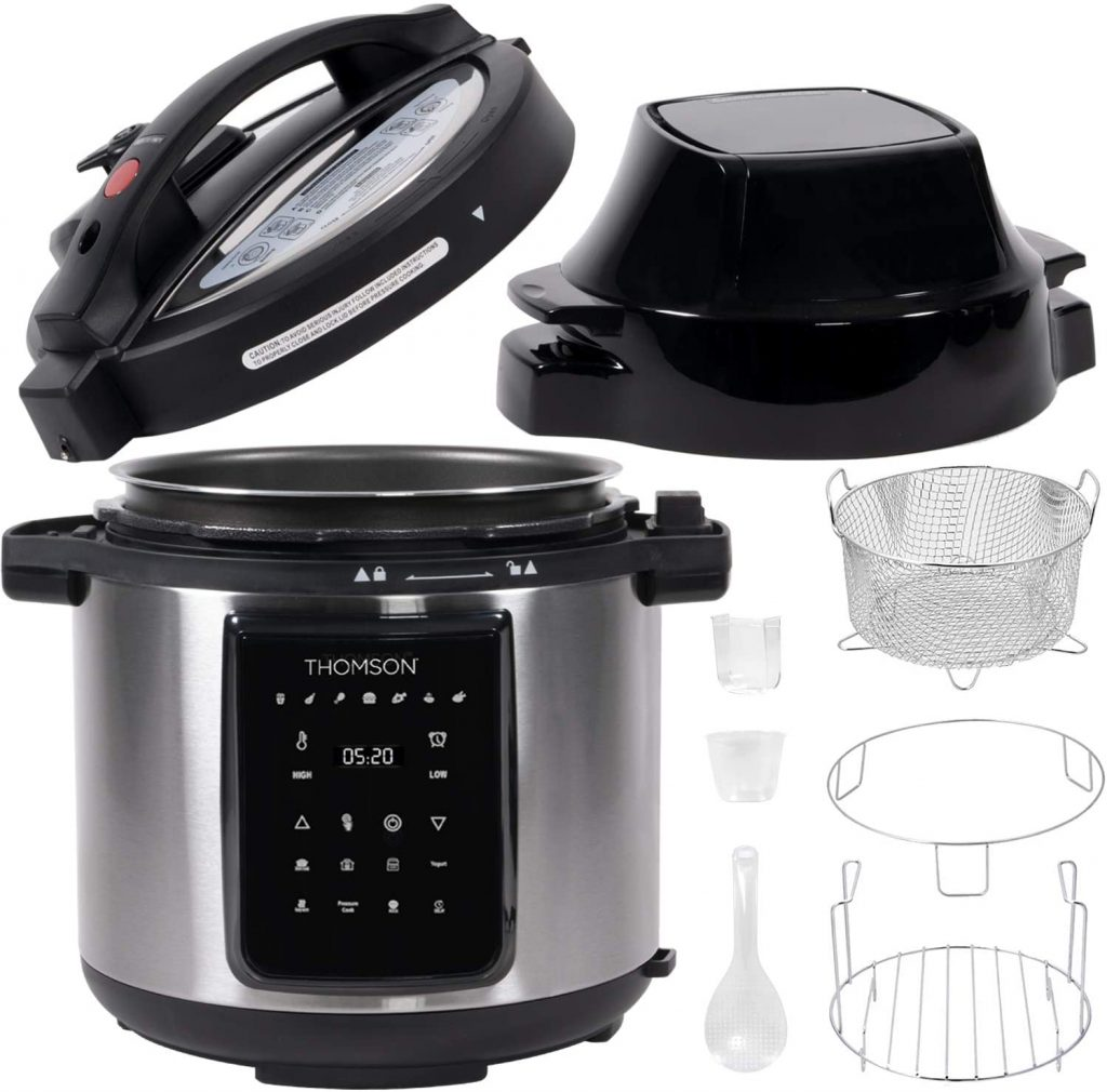 Thomson 9-in-1 Pressure Cooker Detail