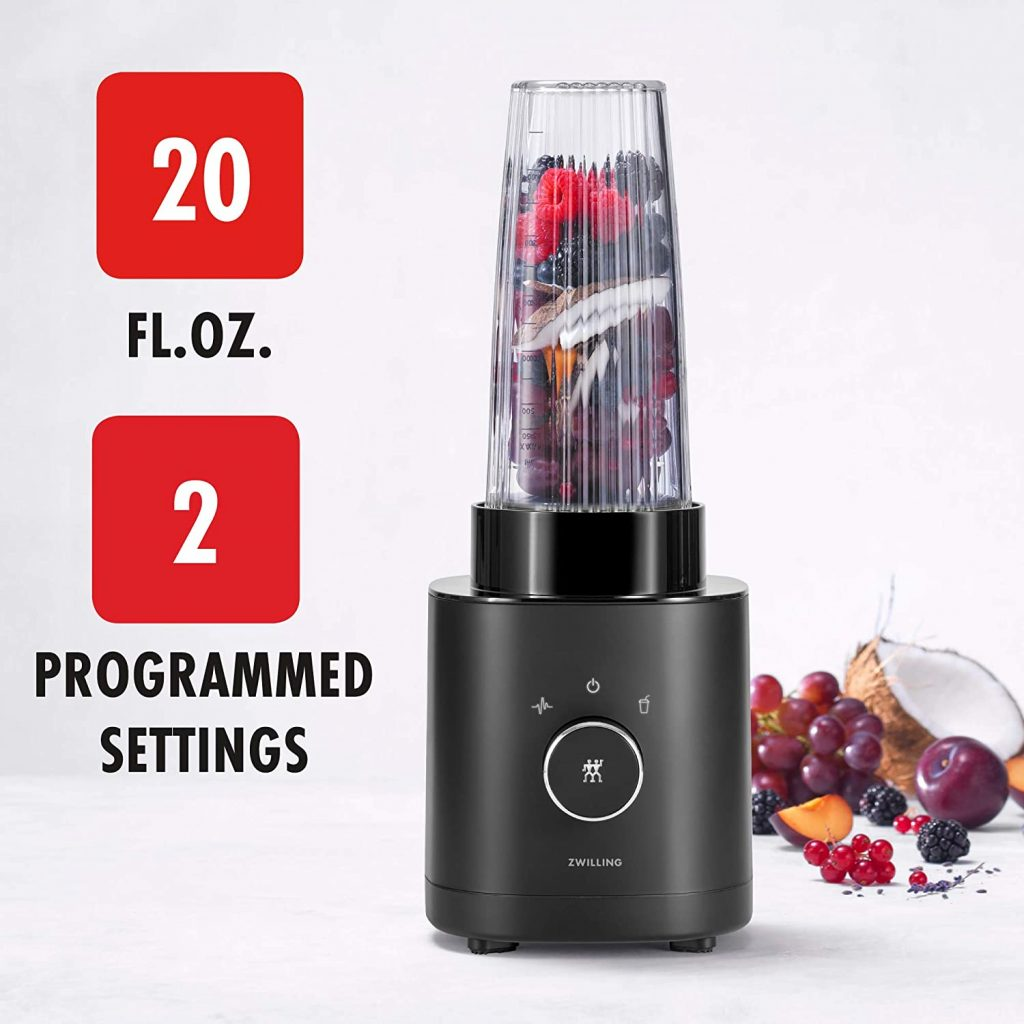 Zwilling Enfinigy Personal Blender Info
